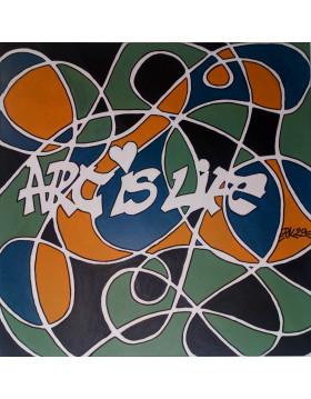 "TABLEAU Art is Life ""FLY"" PK29"