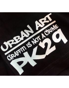 T-SHIRT STREET-ART GRAFFITI IS NOT A CRIME
