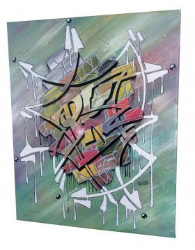 TABLEAU GRAFFITI GRAFF PK29