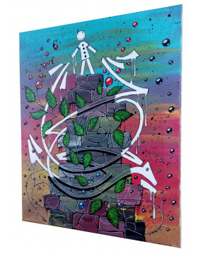 TABLEAU GRAFFITI GRAFF KIPOULOU PK29