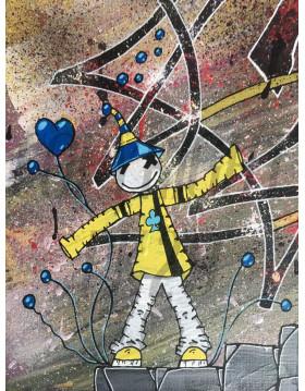 """TABLEAU Kipoulou """"Art"""" PK29"""